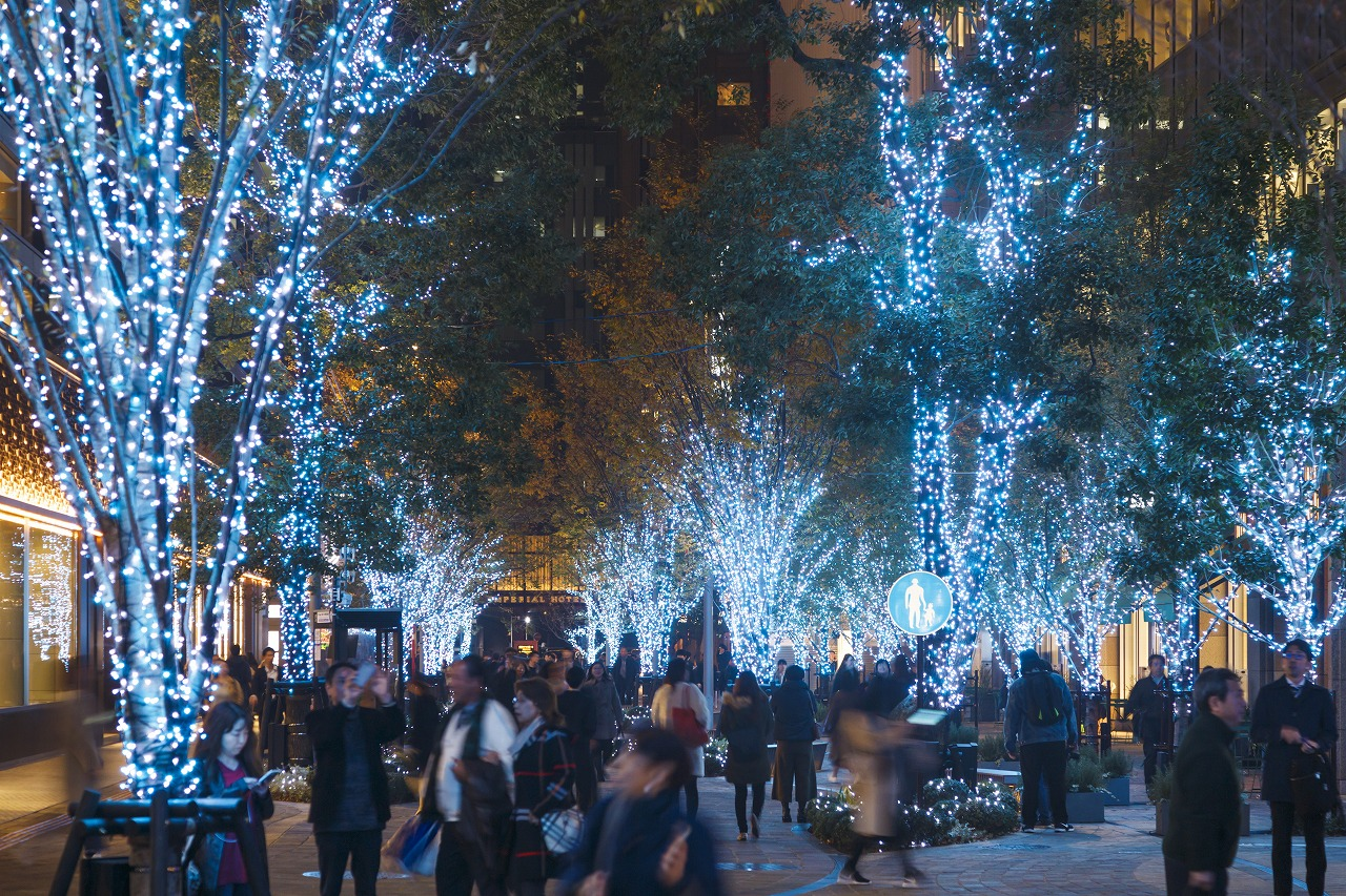 Hibiya Area Magic Time Illumination