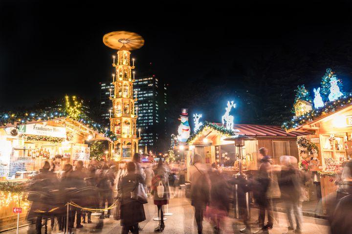 hibiya christmas market metropolis magazine 2 2020 Christmas Illuminations in Tokyo