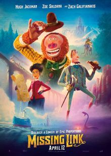 """Movie Poster for """"Missing Link"""" (2019) directed by Christ Butler"""