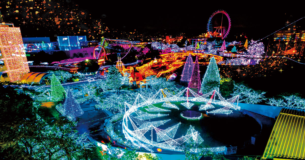 yomiuriland illuminations metropolis magazine japan