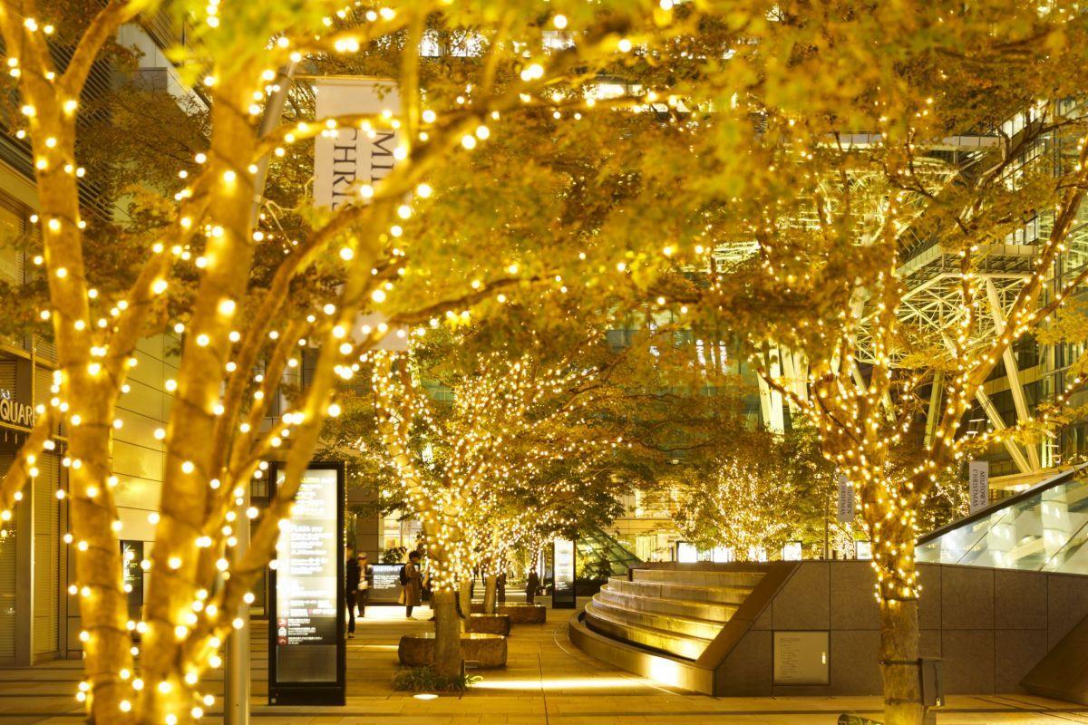 midtown winter tokyo illumination ice ring