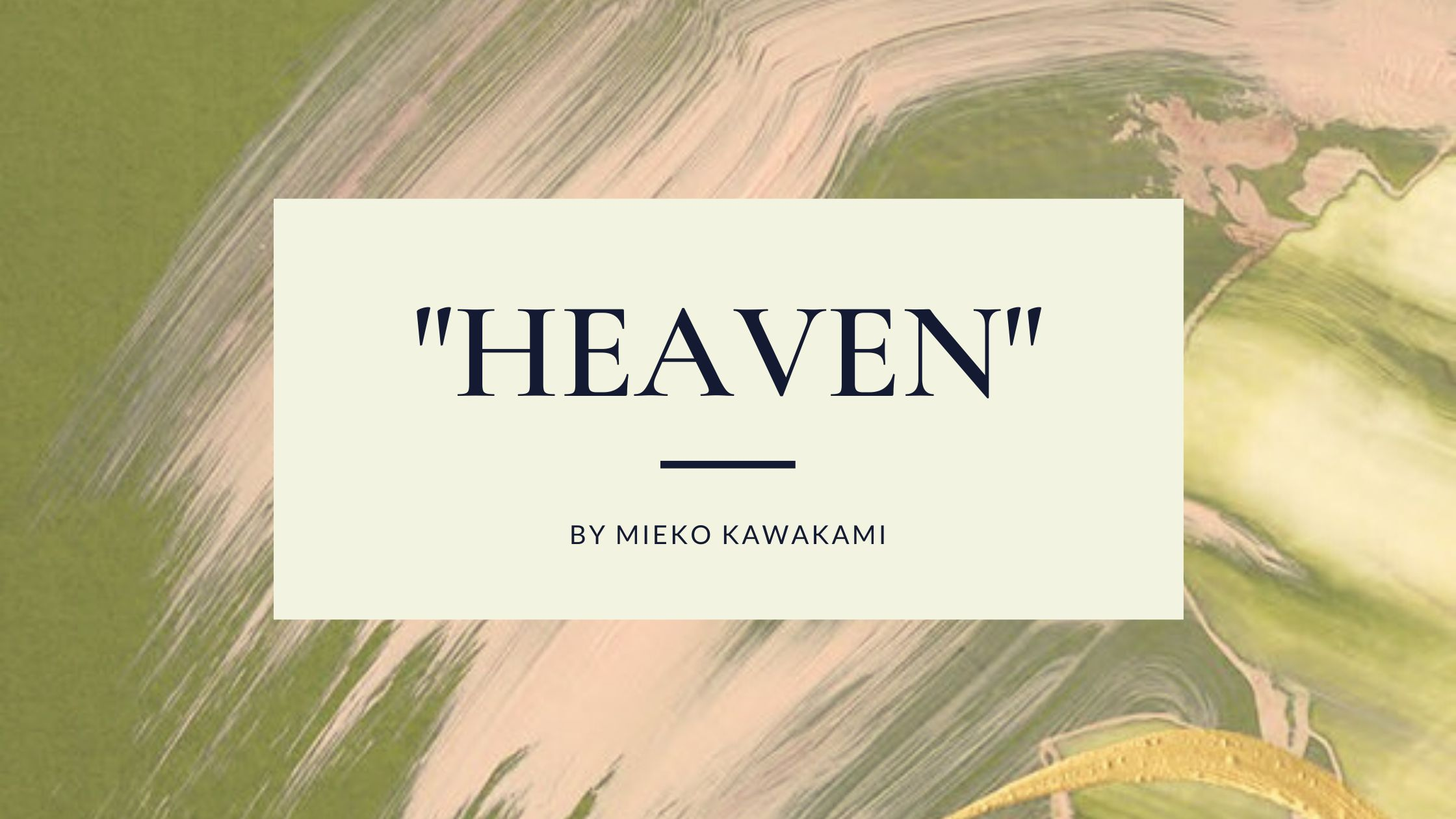 "japanese novels to read 2021 translation ""Heaven"" by Mieko Kawakami"