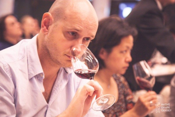 Frederic Cayuela - WIne expert at New Zealand Wine Dinner