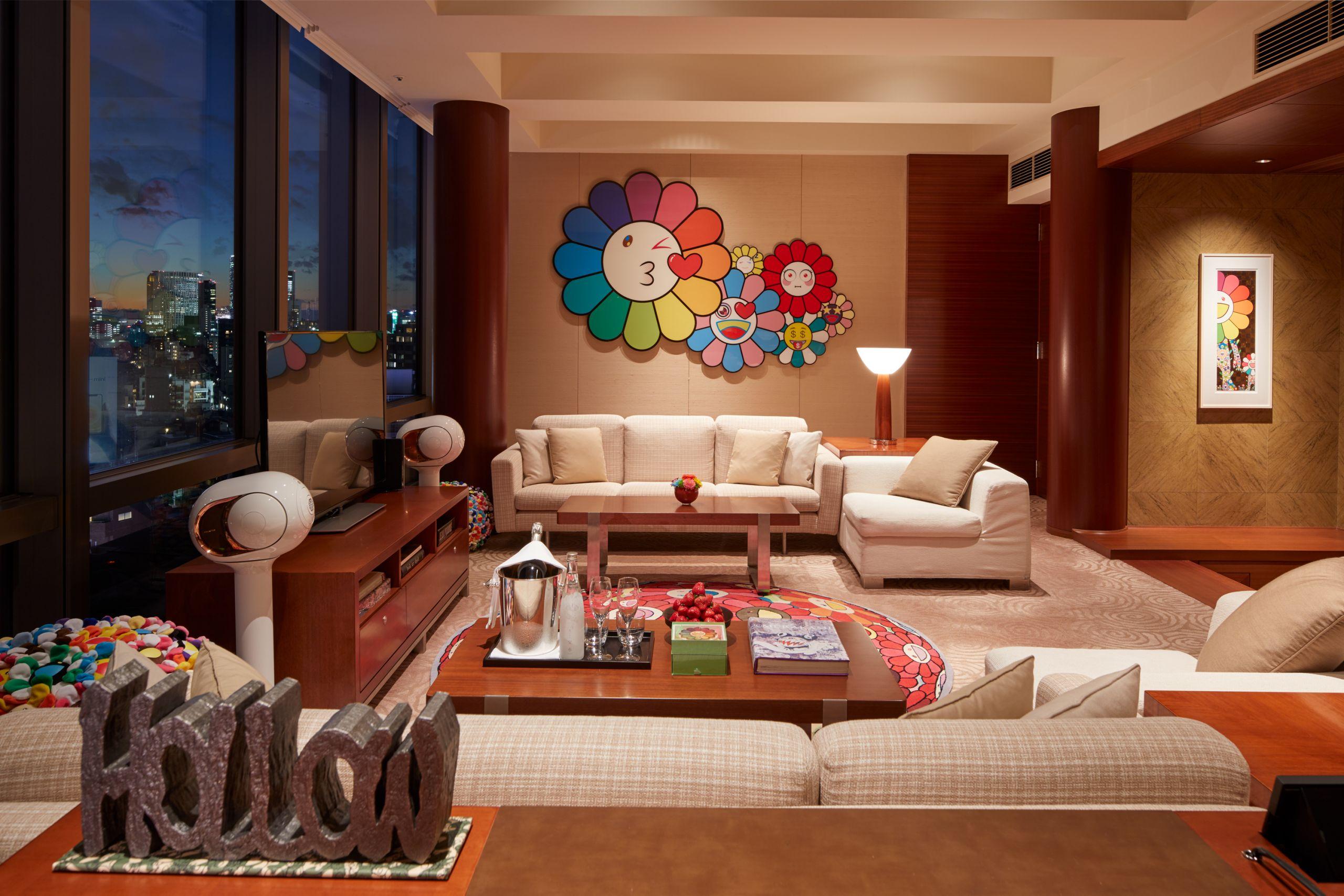 chairman suite takashi murakami grand hyatt tokyo