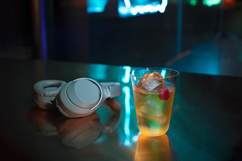 non-alcoholic zero alcohol cocktails Roppongi vegan space futuristic design YAR TATO