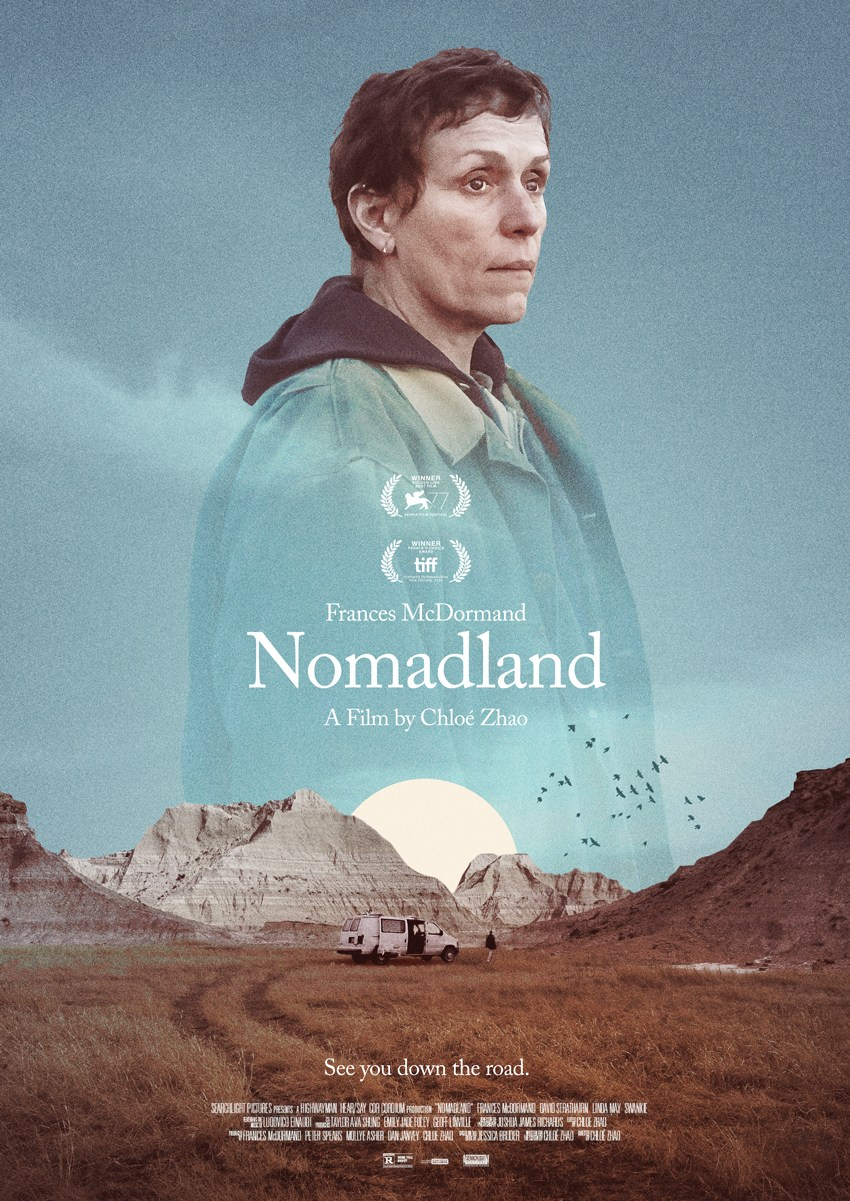 Poster Nomadland.