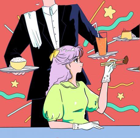 Sashimi illustration