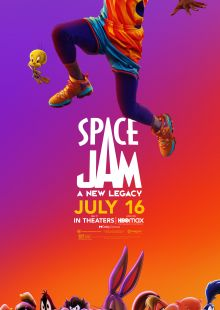 space jam poster 2021